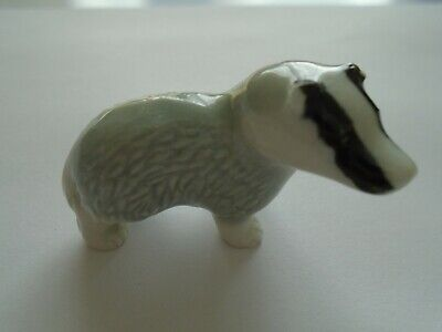 £4.99 • Buy Wade England Whimsie Collectable 1950's First Series Badger Miniature Ornament