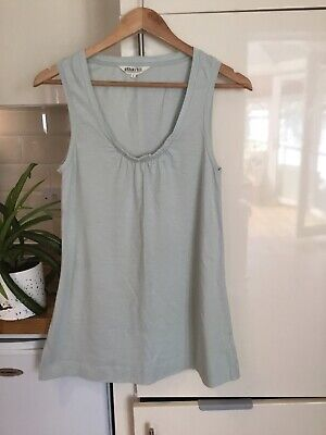 £4.99 • Buy Braintree Summer Organic Cotton Tunic Vest Top S ( Thought Thoughtful Clothing )