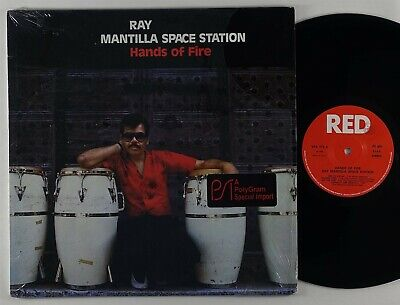 £11.15 • Buy Ray Mantilla Space Station  Hands Of Fire  Latin Jazz LP Red Italy