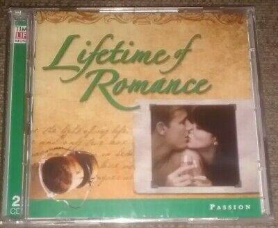 £10.99 • Buy Various - Lifetime Of Romance: Passion (Time Life 2 CD Set, 2005) *New