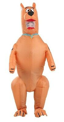 £46.81 • Buy Scooby-Doo Inflatable Puppy Dog Cartoon Halloween Adult Costume One Size 700731