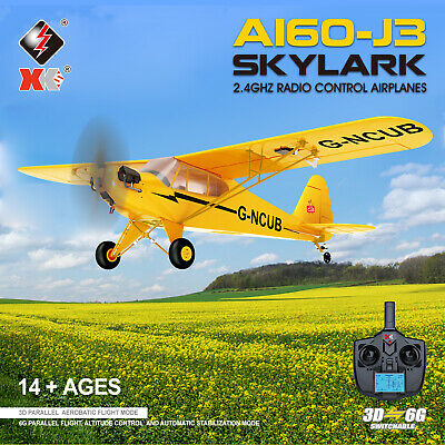 £88.19 • Buy WLtoys XK A160 3D 6G RTF Airplane Aircraft RC Fixed Wing Plane 2.4G 5CH UK STOCK