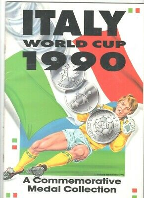 £39 • Buy Italy World Cup 1990 (commemorative Medal Collection)