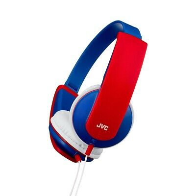 £999 • Buy JVC Tinyphones Headphones For Children / Kids With Volume Limiter HA-KD5 - Red A