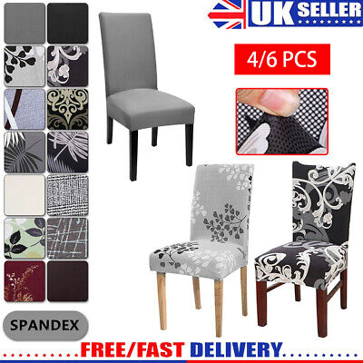 £1.99 • Buy Dining Chair Seat Covers Spandex Slip Banquet Home Protective Stretch Covers UK.