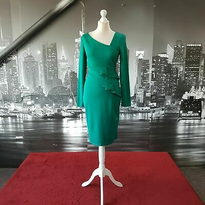£24.99 • Buy Stunning Dress (Green-Size 12) Prom, Ball, Wedding, Cocktail, Party Etc