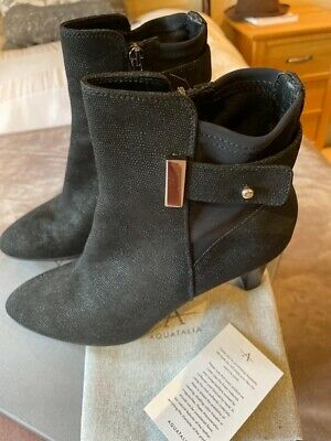 £120 • Buy Russell & Bromley Aquatalia Grey Ankle Boots Size 41