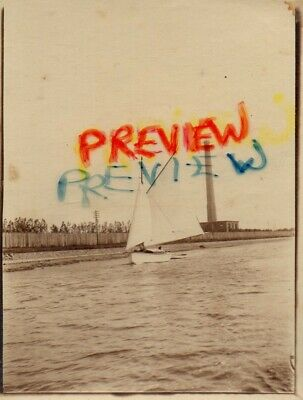 £4.99 • Buy Photo Not PC. Sailing Boat Near Yarmouth On The Norfolk Broads. Taken 1914.
