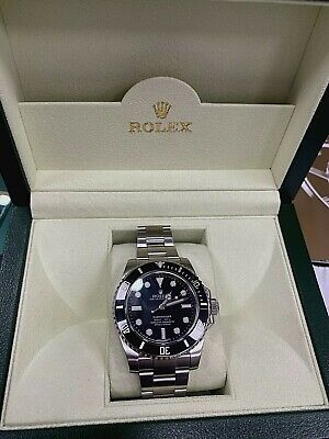 $ CDN12733.18 • Buy Rolex Submariner 114060 40MM NO DATE 4 Lines Box,Papers,Warranty Card PRISTINE