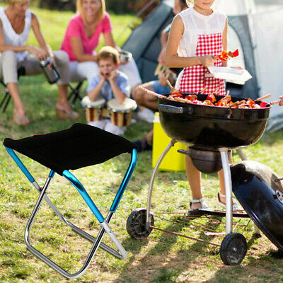 £10.99 • Buy Portable Aluminum Folding Chair Stool Seat For Outdoor Fishing Camping Picnic UK