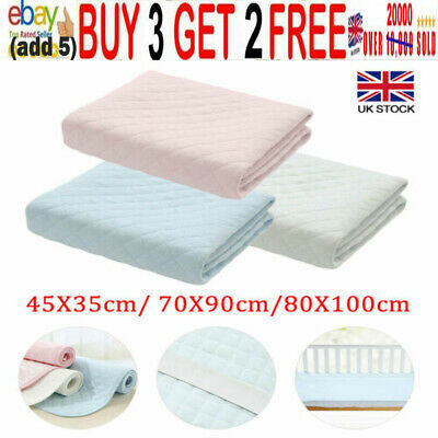 £9.95 • Buy Reusable Washable Absorbent Incontinence Bed Pads Sheet Mattress Protector Uk