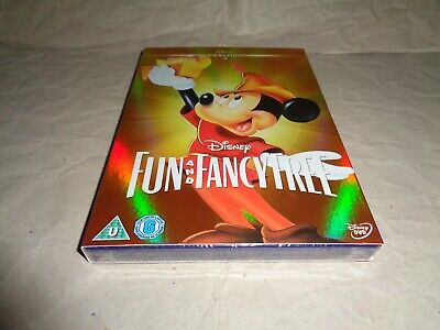 £12.99 • Buy DISNEY FUN AND FANCY FREE O-RING SLIPCASE Dvd UK RELEASE NEW FACTORY SEALED