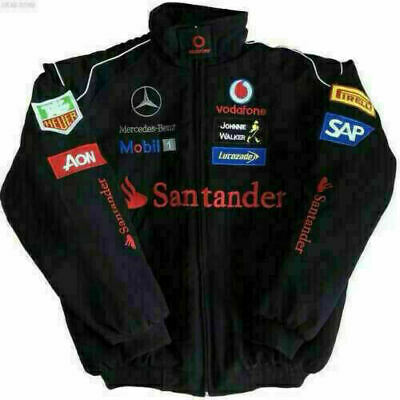 £29.99 • Buy 2021 Racing Suit F1 Red And Black Embroidery EXCLUSIVE JACKET  Team Uk