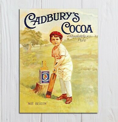 £4.99 • Buy Metal Signs Vintage Retro Style Cadbury's Cocoa Kitchen Home Wall Plaques Gift