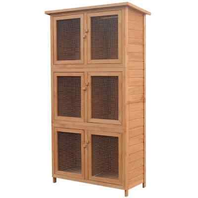 £178.87 • Buy Large Indoor Rabbit Cage Guinea Pig Chinchilla Hutch House Playpen Run New Box