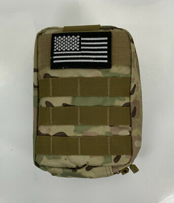 $49.99 • Buy First Aid Survival Molle Kit Emergency Gear Military Trauma Bag Professional 500
