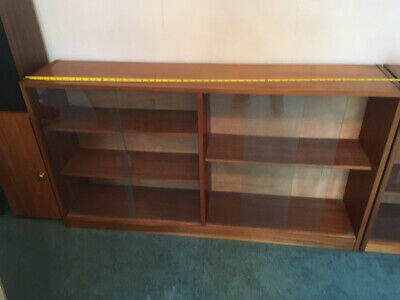 £45 • Buy Glass Fronted Display Cabinet, Bookcase,