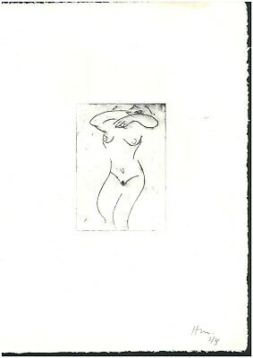 £43.15 • Buy Henri Matisse Old Etching - Hand Signed In Pencil - Rare!!!