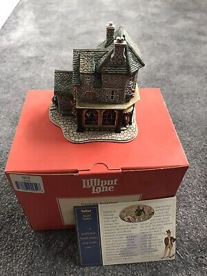 £29.30 • Buy Lilliput Lane  L2054 Tailor - Victorian Shops Boxed With Deeds