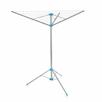 £34.36 • Buy Minky Freestanding Indoor/Outdoor Airer With 15 M Drying Space Metal Silver