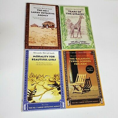 AU17.67 • Buy Lot Of 4 The No. 1 Ladies' Detective Agency, Alexander McCall Smith PB Books