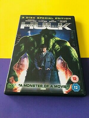 £3.25 • Buy The Incredible Hulk (2 Disc Edition) Very Good DVD, Liv Tyler, William Hurt, L