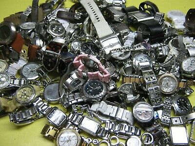 $67 • Buy Over 13 Pounds Of FOSSIL Watches - His & Her's Watch Lot For Parts Or Repair