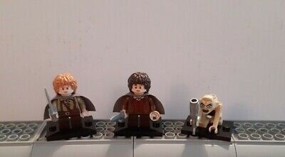 £19.99 • Buy LEGO Lord Of The Rings Frodo/Sam/Gollum Minifigures Bundle (From Set 9470)