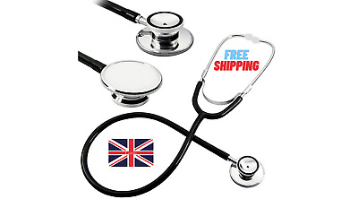 £3.79 • Buy Head Stethoscope For Pro Dual Head Stethoscope Emt Dual Head For Doctor Medical.