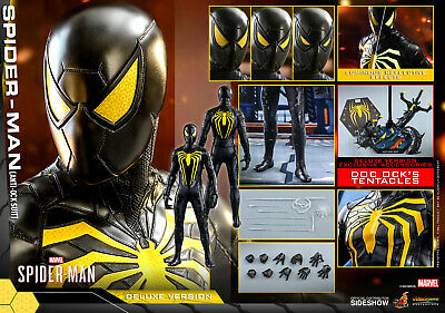 $ CDN357.35 • Buy Sideshow Hot Toys Spider-Man Anti-Ock Suit VGM45 Deluxe 1/6 Scale Figure