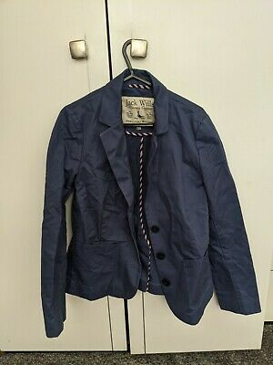£5 • Buy Ladies Jack Wills Blazer Size 10 In Lovely Blue Shade. Barely Worn!