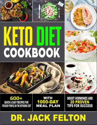 $2.99 • Buy Keto Diet Cookbook – 600+ Quick & Easy Recipes For Busy People On The Ketogenic