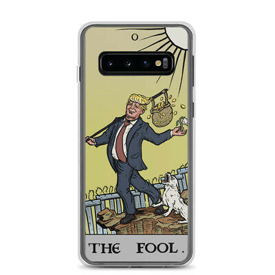 £18.15 • Buy Funny Anti Trump The Fool Tarot Samsung Case Political Witch Occult Phone Case