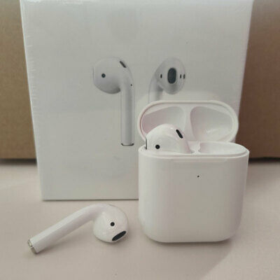 AU42.95 • Buy Apple AirPods (Second Generation) New Wireless Charging Box Headset - AU Stock