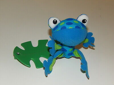 £7.64 • Buy Fisher Price Replacement BLUE LIZARD Rainforest Peek A Boo Leaves MOBILE (*71)