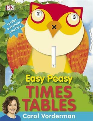 £2.59 • Buy Easy Peasy Times Tables By Carol Vorderman, Good Used Book (Hardcover) FREE & FA