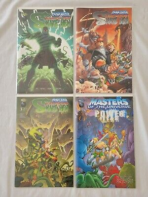 $24.98 • Buy Cge Comics Lot: Masters Of The Universe Rise Of The Snake Men #1-3 (2003) Power