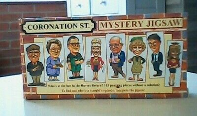 £3 • Buy Coronation Street 'Mystery' Jigsaw Puzzle (125 Piece) 1995 COLLECTABLE
