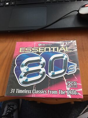£4.50 • Buy ESSENTIAL 80'S - 2 X DISC CD ALBUM ( NEW/SEALED ) IMAGINATION , EVELYN THOMAS .