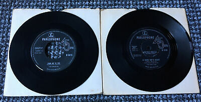 £19.99 • Buy The Beatles X 2 45rpm Singles - From Me To You & A Hard Day's Night