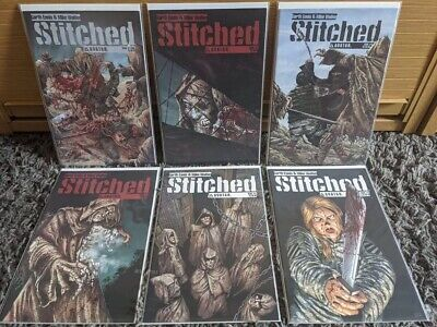 £7 • Buy Stitched Gore Avatar Comics Complete Set 1 To 6 Garth Ennis Mike Wolfer Bag&boar