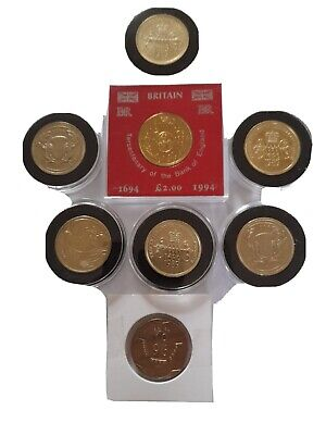 £48 • Buy 8 Old Style 2 Pound Coins Job Lot Circulated + Uncirculated , And Football