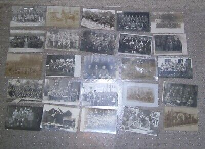 $29 • Buy WWI GERMAN MILITARY SOLDIERS RPPC POSTCARDS - LARGE LOT -92 Pcs