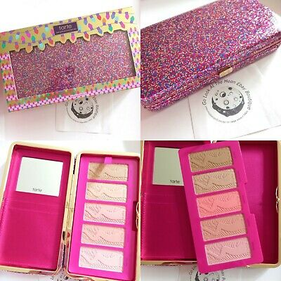 £21.99 • Buy Tarte Life Of The Party Clay Blush Palette & Sparkly Clutch BNIB Ltd Edition
