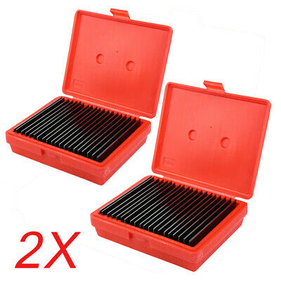 $75.01 • Buy 20 Pair PARALLEL ULTRA THIN 1/32  SET Precision Machinist Tools 0.0001'' 2-Box
