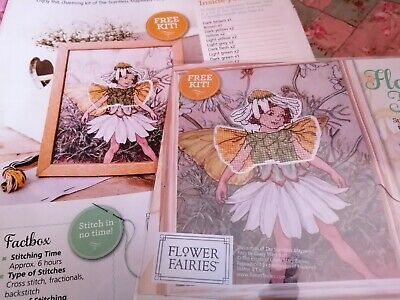 £2.50 • Buy Cross Stitch Chart The Mayweed Fairy Flower Fairy  Magazine Cover Kit