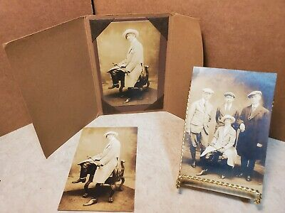 $8.85 • Buy Antique Victorian Equestrian Photographs Post Cards English Horse Riding