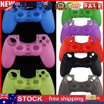 AU10.83 • Buy Silicone Rubber Soft Case Skin Cover For PS4 Controller Grip Handle Console