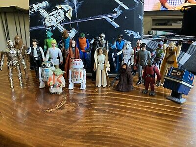 $ CDN515 • Buy Vintage Kenner Star Wars First 21 Original Action Figures With Weapons And More!
