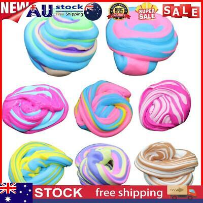 AU11.43 • Buy DIY Fluffy Slime Scented Stress Relief Modeling Clay Mud Kids Sludge Toy